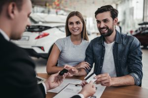 Rechnungsvorlage für einen Autoverkauf